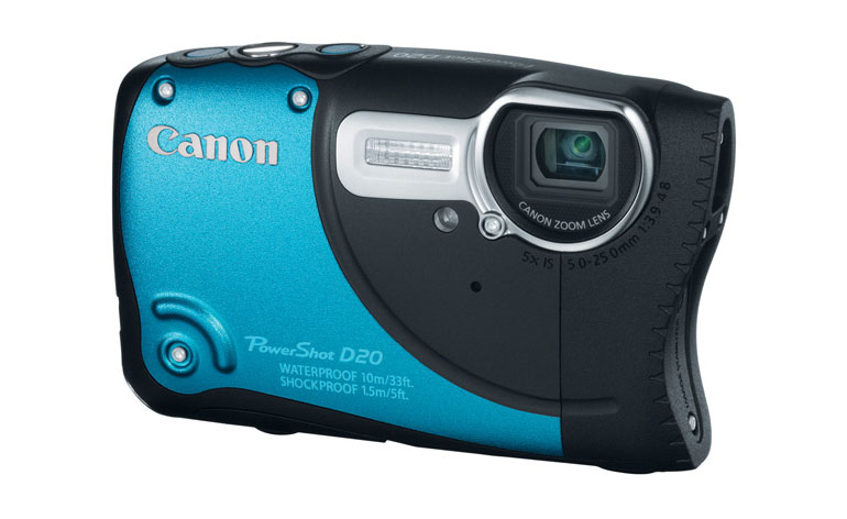 Canon PowerShot D20 recensione