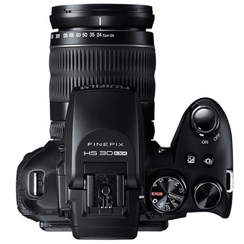 Fujifilm Finepix HS30EXR superiore