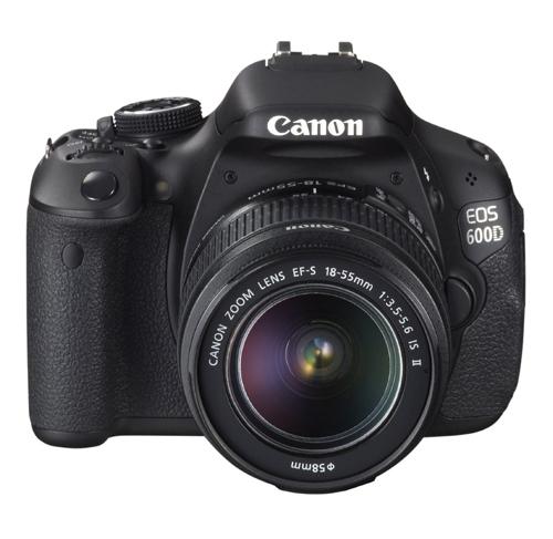 Canon EOS 600D fronte