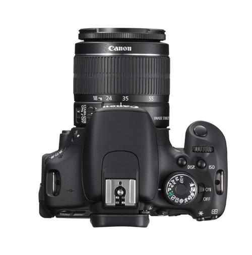 Canon EOS 600D superiore