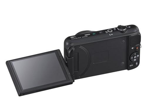 Nikon Coolpix S6600 display angolare