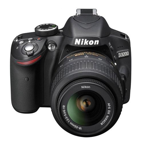 Nikon D3200 fronte