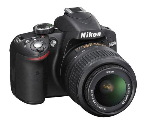Nikon D3200 lato