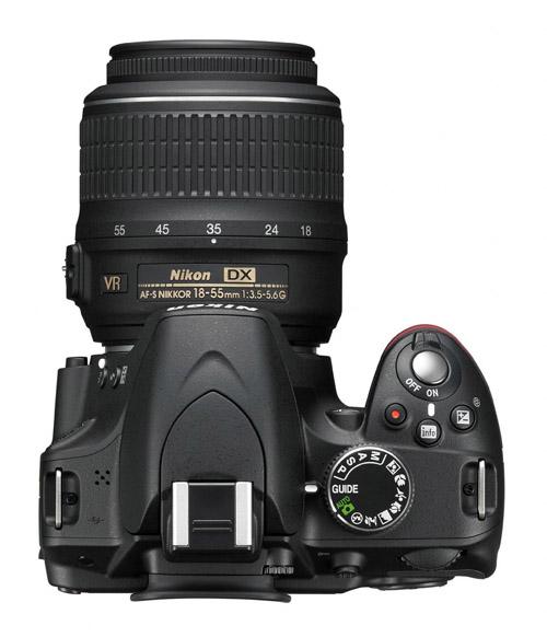 Nikon D3200 superiore