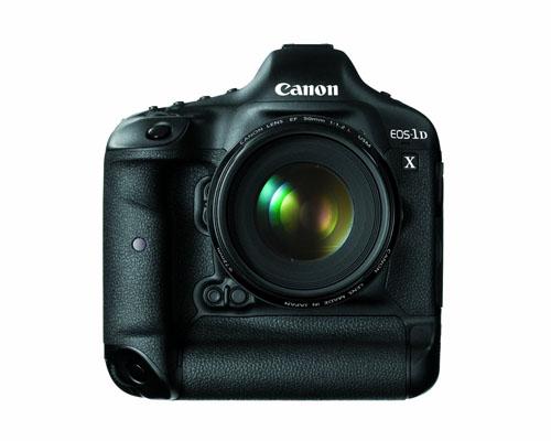Canon EOS 1D X fronte obiettivo