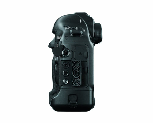 Canon EOS 1D X lato sinistro
