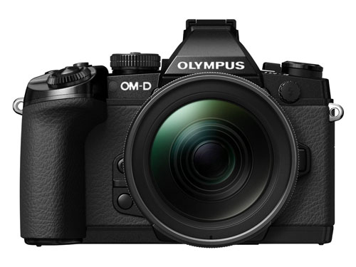 Olympus OM-D E-M1 fronte