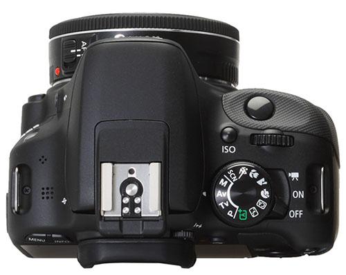 Canon EOS 100D superiore
