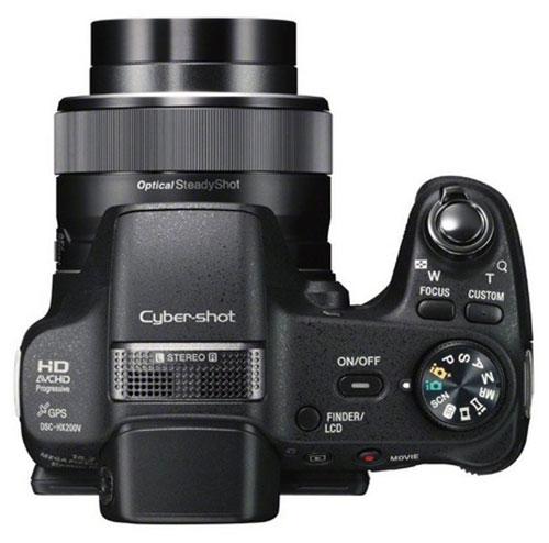 Sony-Cybershot-HX200V-superiore