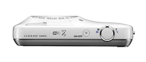 Nikon-Coolpix-S800c-superiore