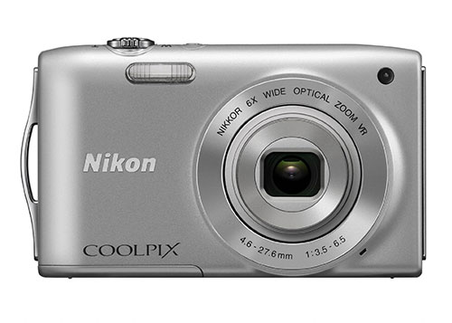 Nikon-Coolpix-S3300-fronte