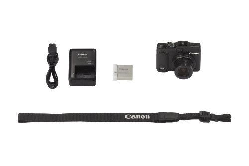 Canon PowerShot G16 contenuto