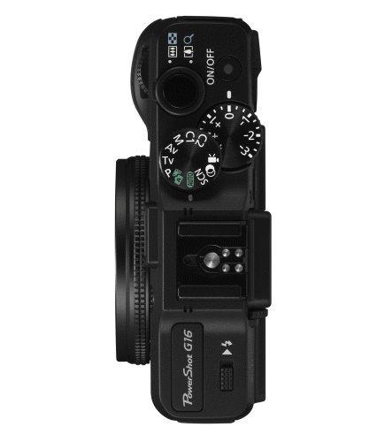 Canon PowerShot G16 superiore