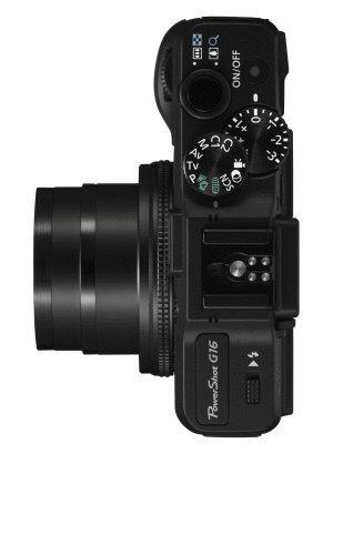 Canon PowerShot G16 zoom