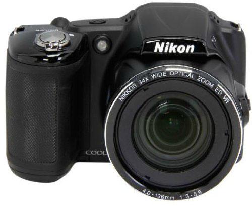 Nikon-Coolpix-L830-frontale