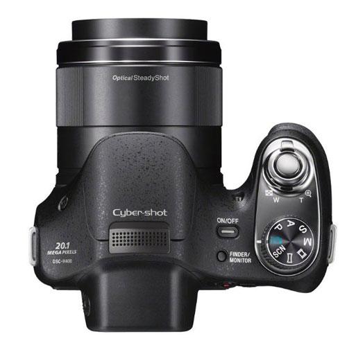 Sony-Cyber-shot-DSC-H400-pulsanti