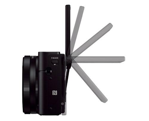Sony Cyber-shot DSC RX100-III display orientabile