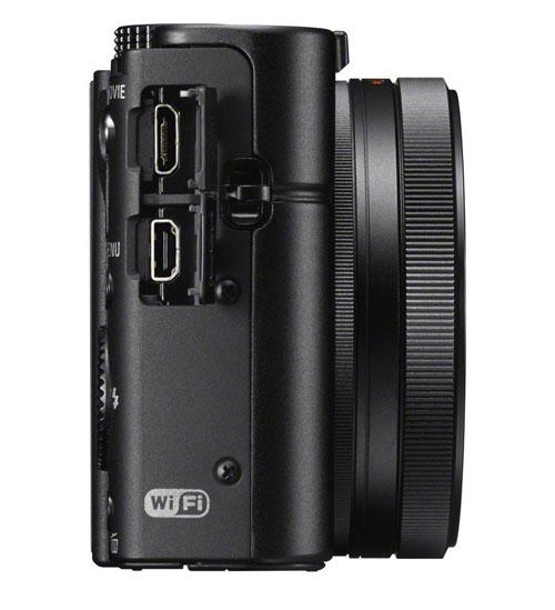 Sony Cyber-shot DSC RX100 III laterale