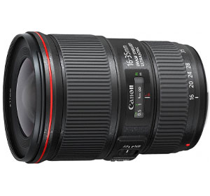 Canon EF 16-35mm f/4L IS USM Obiettivo Ultragrandangolare con Zoom