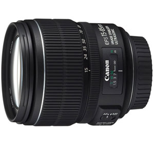 Canon EF-S 15-85 mm f/3,5-5,6 IS USM Obiettivo