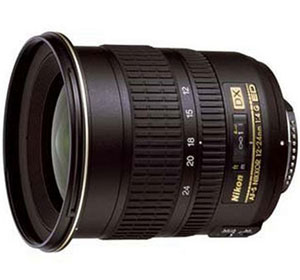 Nikon AF-S DX Zoom-Nikkor Obiettivo 12-24 mm 1:4G IF-ED, 77 mm