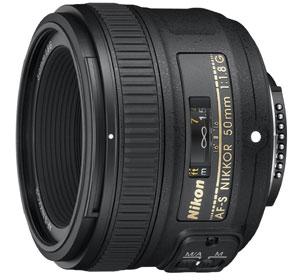 Nikon AF-S Nikkor Obiettivo 50 mm f/1.8 G