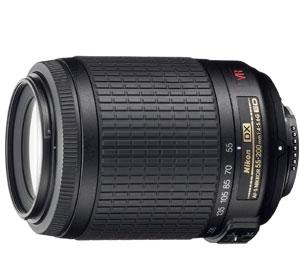 Nikon Obiettivo Nikkor AF-S VR DX Zoom 55-200mm f/4-5.6G ED