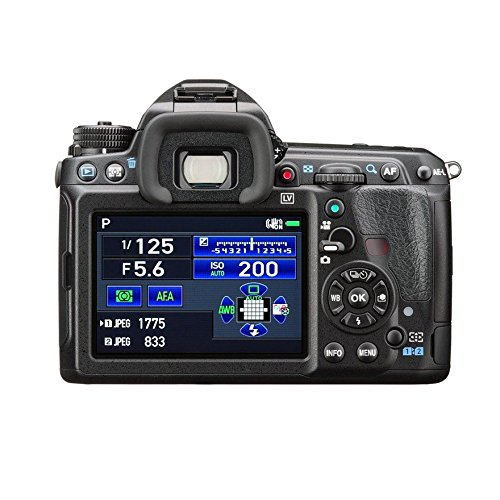 Pentax K3 II display