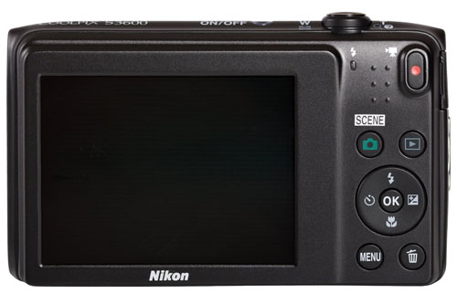 nikon-coolpix-S3600-display