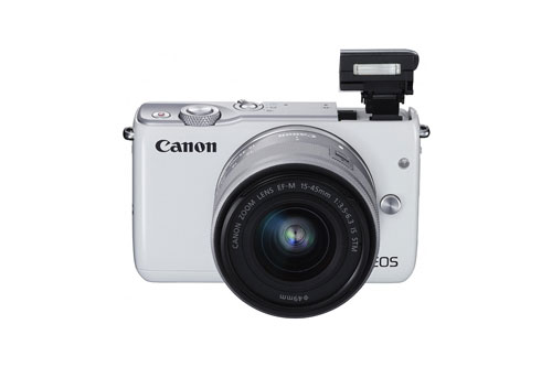 Canon-EOS-M10-flash