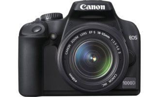 Canon eos 1000d recensione
