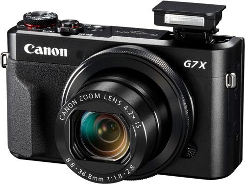 canon g7x mark ii flash