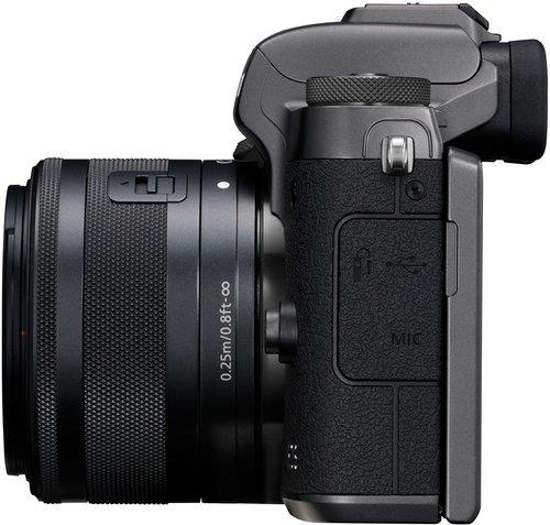 Canon EOS M5 fianco
