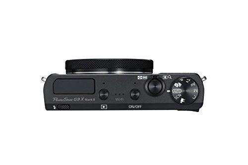 Canon Powershot g9x mark II sopra