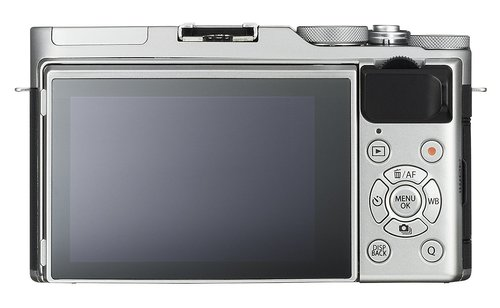 Fujifilm X-A3 display