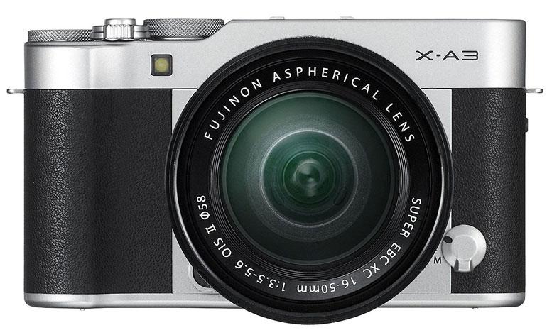 Fujifilm X A3 recensione
