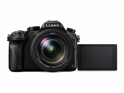 Panasonic Lumix DMC-FZ2000 display frontale