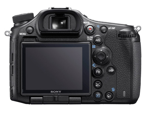 Sony A99 II display