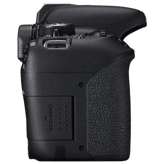 canon eos 800d slot