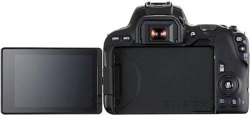 Canon EOS 200D schermo