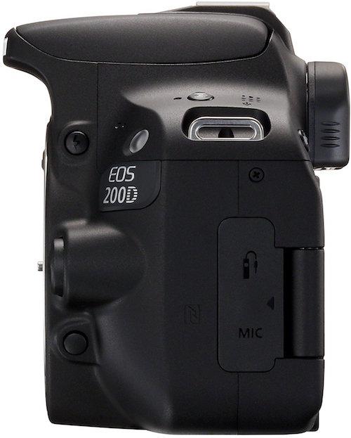 Canon EOS 200D spessore