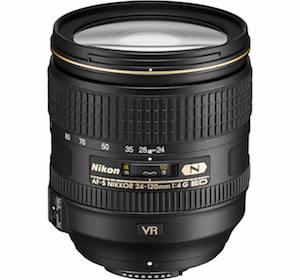 Nikon AF-S 24-120mm f:4G ED VR