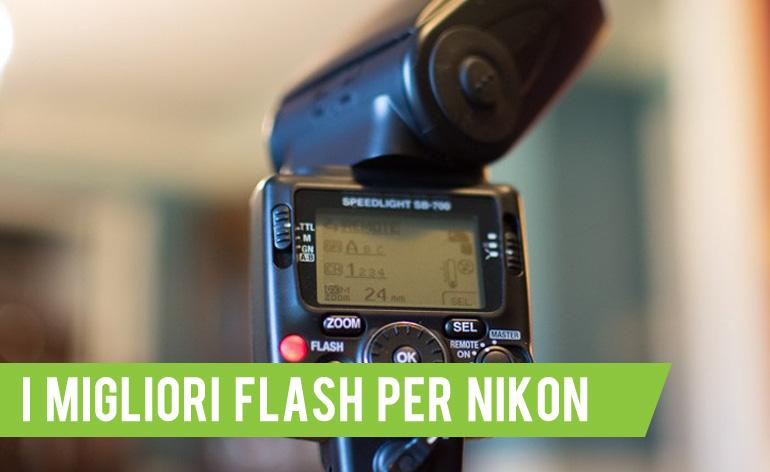 miglior flash per nikon