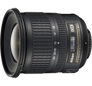 Nikon AF-S DX 10-24mm f/3.5-4.5G