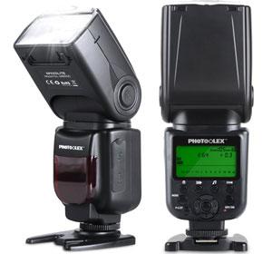 PHOTOOLEX Speedlite 580EX II TTL Speedlight