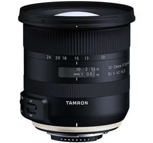 Tamron 10-24mm f/3.5-4.5 Di II VC