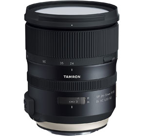 Tamron SP 24-70mm f/2.8 VC USD