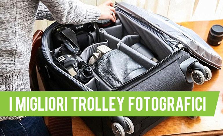 miglior trolley fotografico