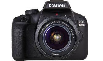 Canon EOS 4000D Recensione
