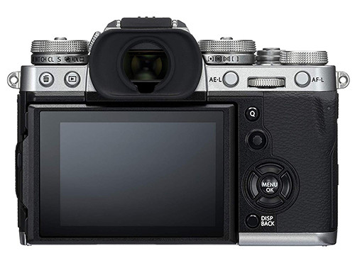 Fujifilm X-T3 display